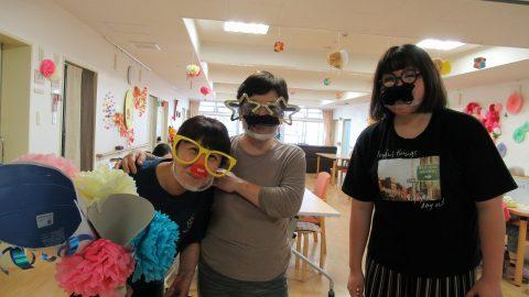 祝。敬老の日イベント~ヒゲダンス・玉入れ~