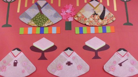 雛祭りと桜餅